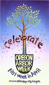 oregon arbor week