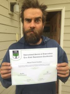 Qualified Tree Risk Assessor